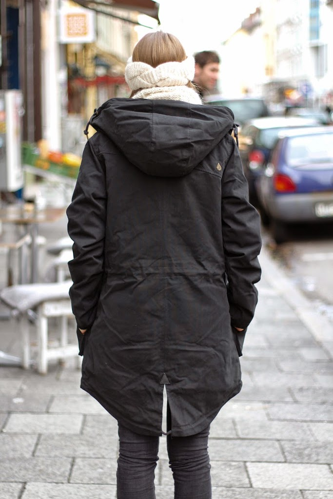 blue tomato, bluetomato, volcom, walk on by jacket, parka, trend, winter, muenchen, outfit, volcom walk on by