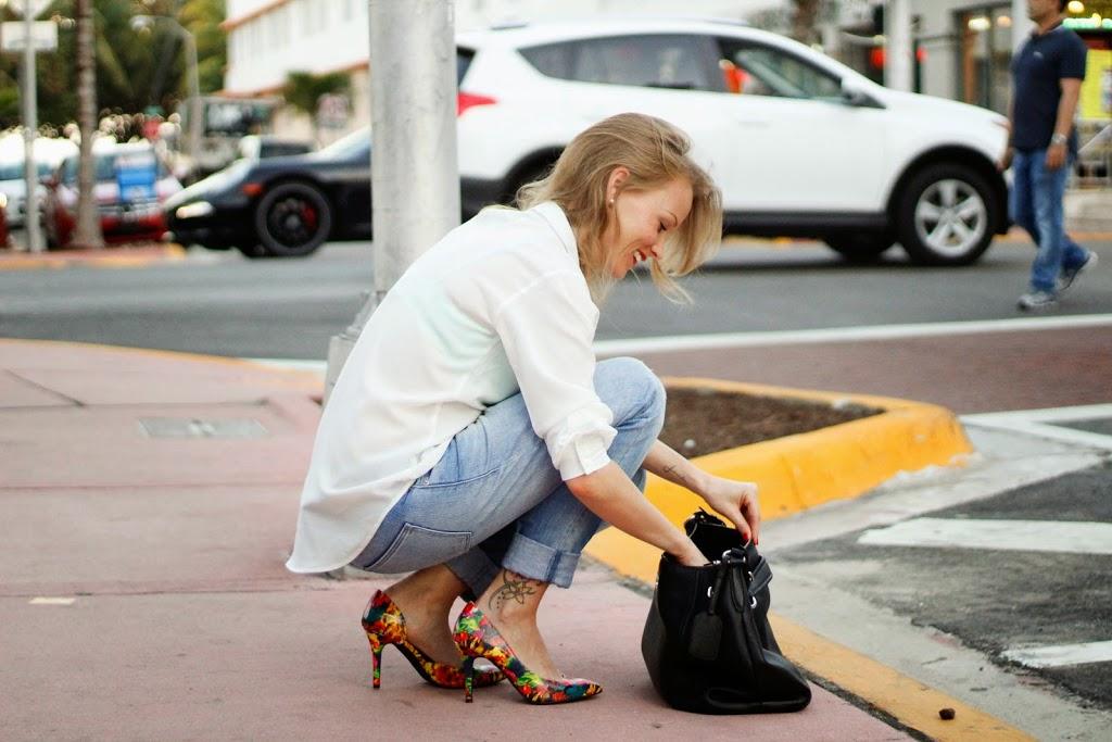 miami, south beach, collins avenue, florida, street style, boyfriend look, tomboy outfit, trend, prada