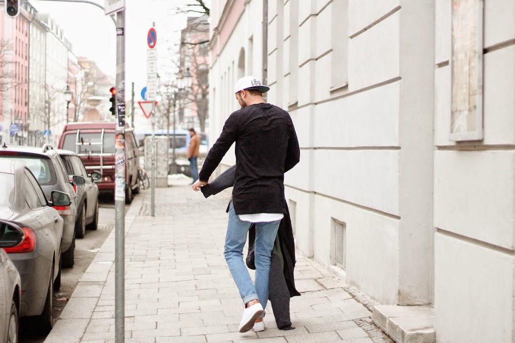 Menswear Outfit im Longline Trend
